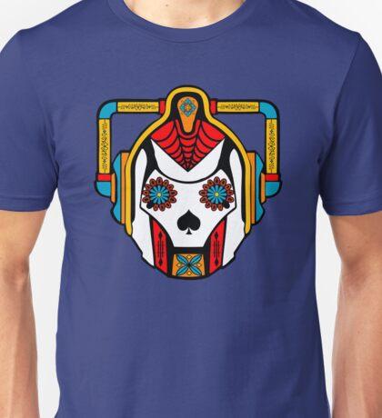 Cyberman Sugarskull Unisex T-Shirt
