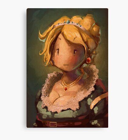 Lady JRPG VI Canvas Print