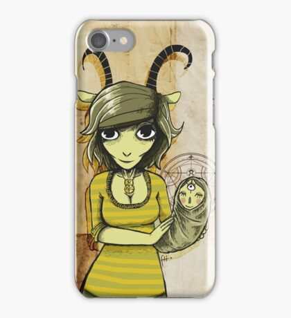 Goat Bless III iPhone Case/Skin