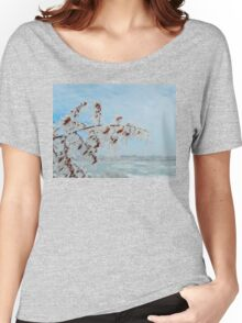 frost crystal Women's Relaxed Fit T-Shirt