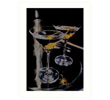 Martini Time! Art Print
