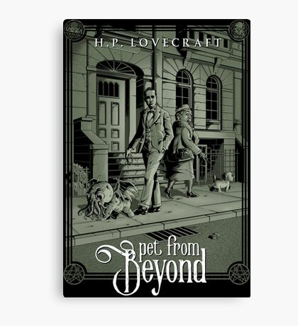 Pet From Beyond Canvas Print