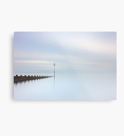 Portobello Seascape Metal Print