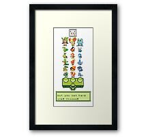 Choose! Framed Print