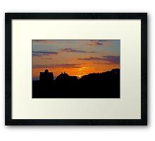 Bristow Sunset Framed Print