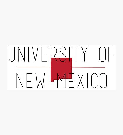 university of new mexico Photographic Print