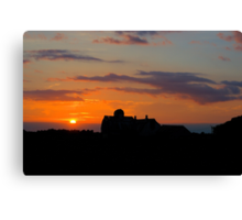 Bristow Sunset 2 Canvas Print