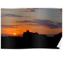 Bristow Sunset 2 Poster