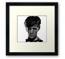 Matt Smith: The 11th Doctor Framed Print