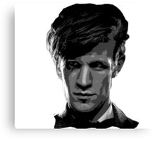 Matt Smith: The 11th Doctor Canvas Print
