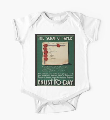 Vintage poster - The Scrap of Paper One Piece - Short Sleeve