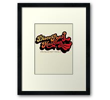Disco Pants and Haircuts - The Blues Brothers Framed Print