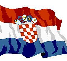 Croatia Flag by kwg2200