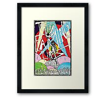 Wayne and the Laser Hand Framed Print