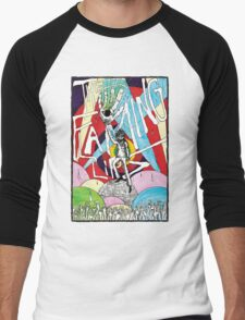 Wayne and the Laser Hand Men's Baseball ¾ T-Shirt
