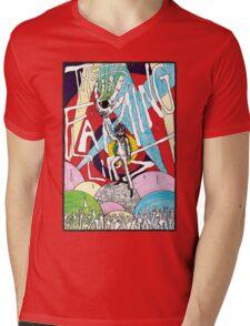 Wayne and the Laser Hand Mens V-Neck T-Shirt