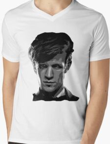 Matt Smith: The 11th Doctor Mens V-Neck T-Shirt