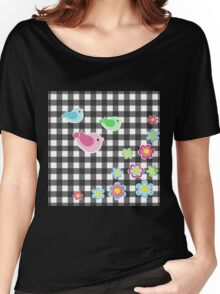 Cute Spring pattern Women's Relaxed Fit T-Shirt
