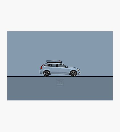 Volvo V60 Photographic Print