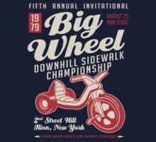 Big Wheel Championship - Ilion, NY Kids Tee