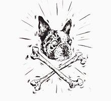 Pirate Boston Terrier Flag Men's Baseball ¾ T-Shirt