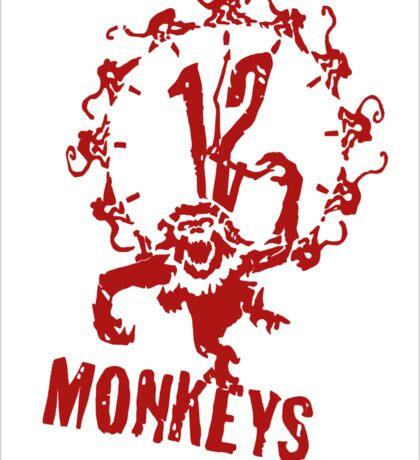 12 monkeys tv series Sticker