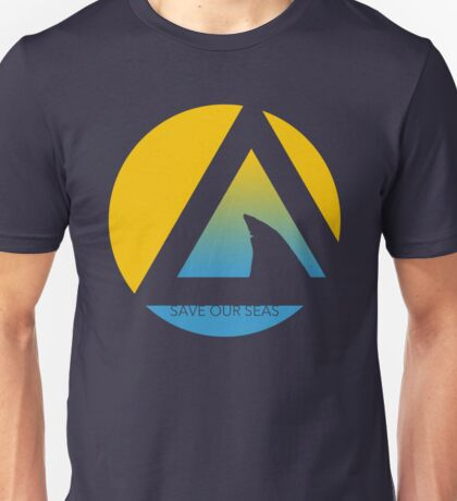 save our seas tricircle Unisex T-Shirt