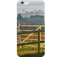 Don't Fence Me In! Althorne Sunrise iPhone Case/Skin