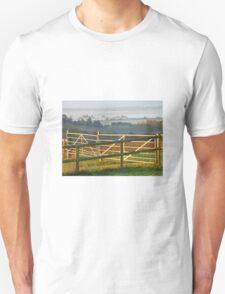 Don't Fence Me In! Althorne Sunrise Unisex T-Shirt