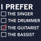 I prefer the guitarist checklist by bravos