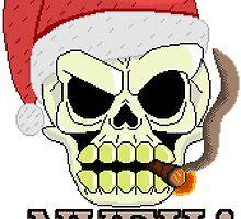 Santa Skull by PS2Gator