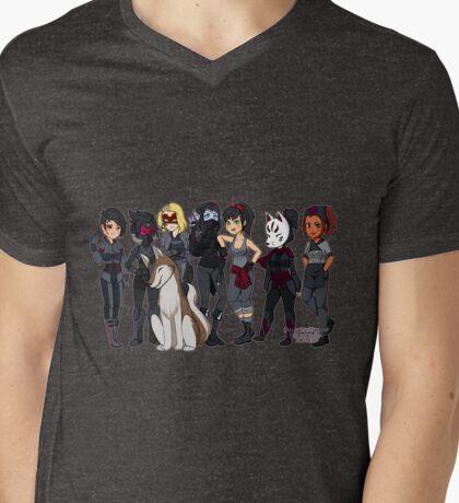 Brawlhalla Characters Females Mens V-Neck T-Shirt