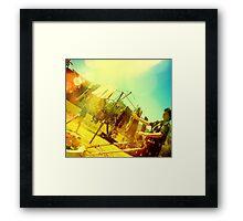 Fruity Sunny Slushy Framed Print