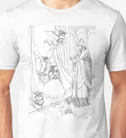 Tammy And Pope Innocent Unisex T-Shirt