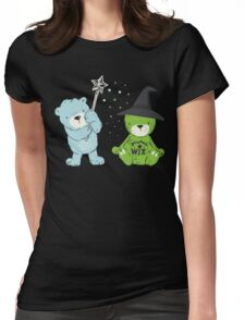 too cute to be wicked Womens Fitted T-Shirt