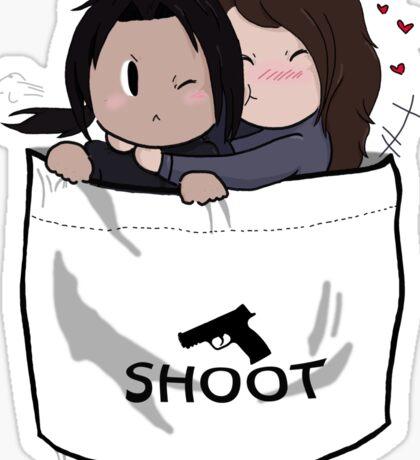Pocket Shoot Sticker