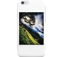 green hills, cool clouds iPhone Case/Skin