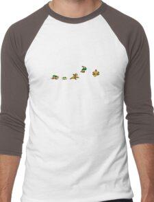 Simply Bowser Men's Baseball ¾ T-Shirt