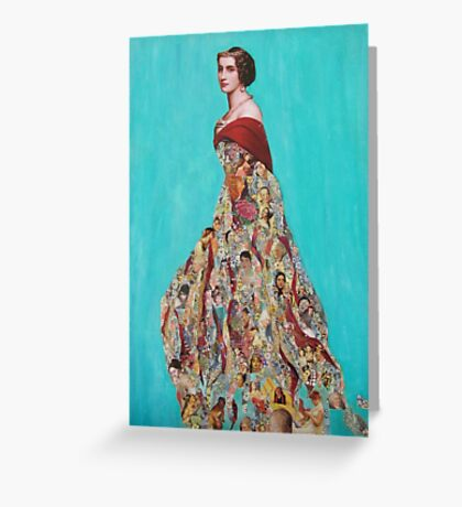 The Mother II  Greeting Card