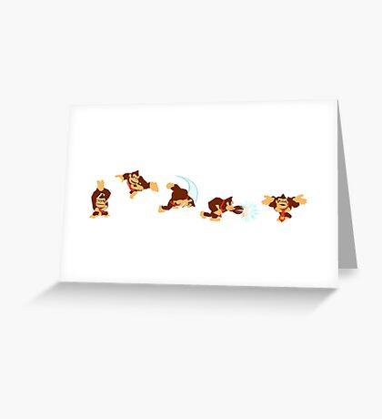 Simply Donkey Kong Greeting Card