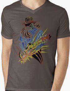Guitar! Mens V-Neck T-Shirt