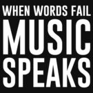 When words fail music speaks by bravos