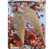 Pampas Grass in Fall iPad Case/Skin