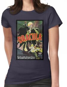 Dracula Womens Fitted T-Shirt