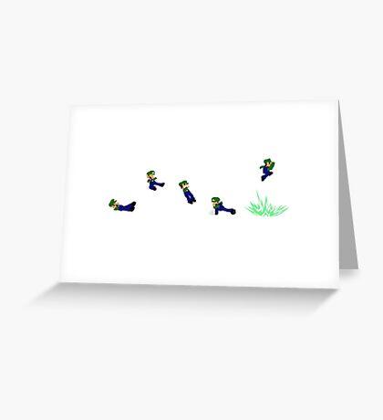 Simply Luigi Greeting Card