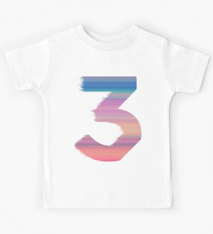Chance The Rapper - 3 (White) Kids Tee