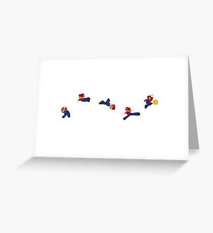Simply Mario Greeting Card
