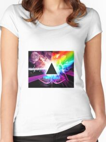 Pink Fantasy floyd  Women's Fitted Scoop T-Shirt