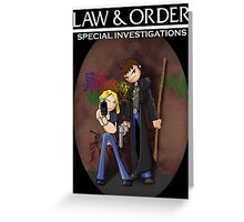 Dresden Files: Special Investigations Greeting Card