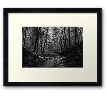 Meet in the Middle Framed Print